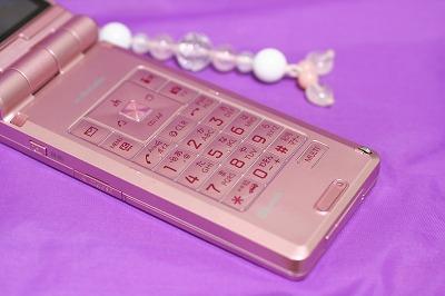 P906i ピンク