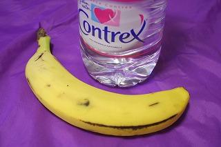 バナナと常温の水