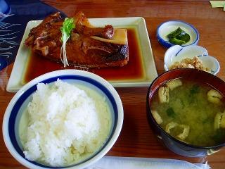 カマ煮定食