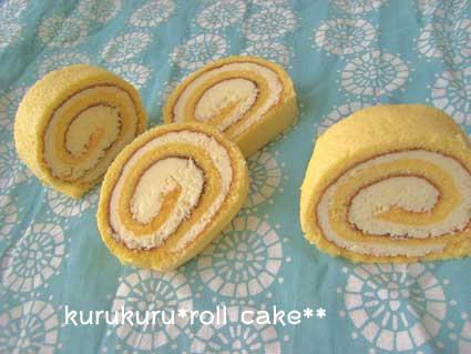 バタークリームロールケーキ