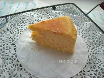 ベイクドチーズケーキ カッ