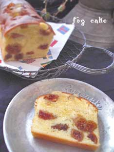 セット いちぢくのケーキ