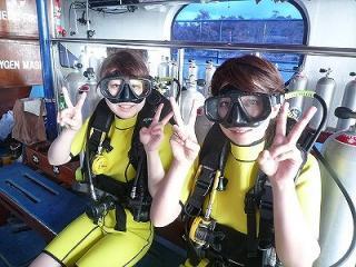 プーケット ダイビング 体験 ラチャヤイ島 タイ