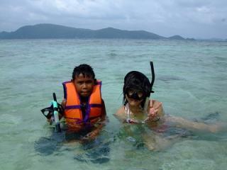 プーケット ダイビング コーラル島 ツアー 離島