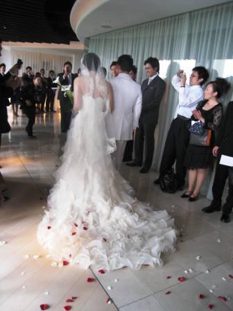 いずみとこーちゃんの結婚式