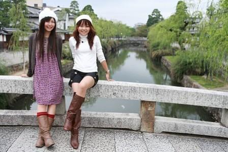 岡山 麻奈美ちゃんと倉敷お散歩
