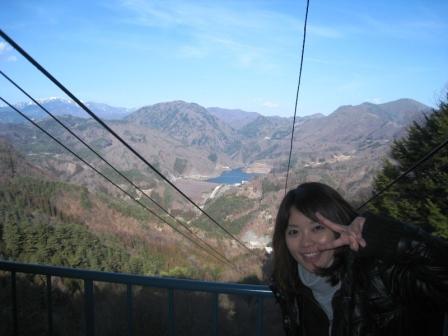 昇仙峡 ロープウェイ
