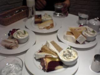 ケーキたくさん♪