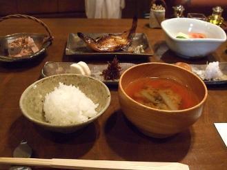 花小宿 朝食 (2)