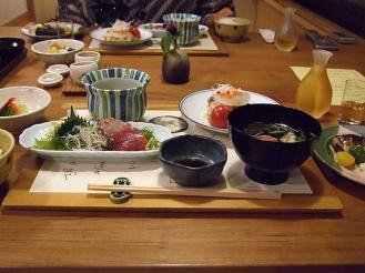 大黒屋 夕食 (1)