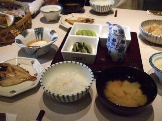 別邸回 朝食 (1)