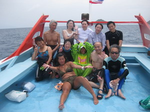 タオ島 ダイビング 記念