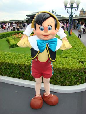 ピノキオ エント 帽子