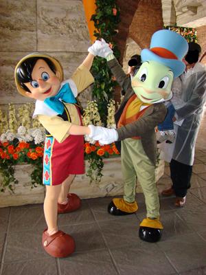 ピノキオ・ジミニー メディテ ミラコ下