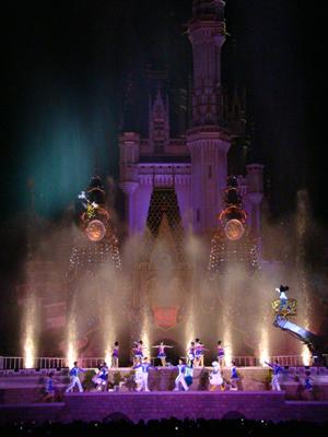 お城 スターライト 水