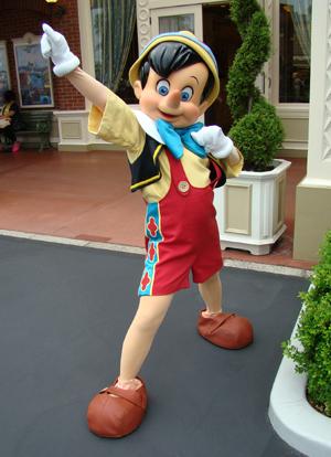 ピノキオ エント おー