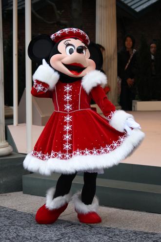 ミニー クリスマスグリ ふふ
