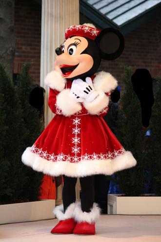 ミニー クリスマスグリ きゅん