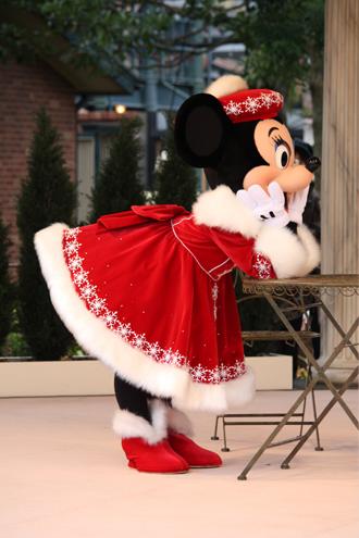 ミニー クリスマスグリ ♪