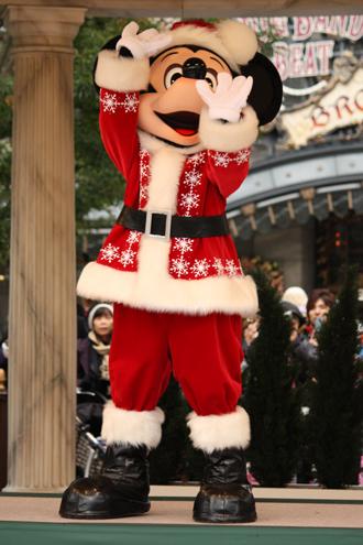 ミッキー クリスマスグリ 準備