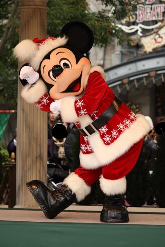 ミッキー クリスマスグリ となかい