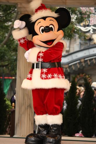 ミッキー クリスマスグリ トナカイ