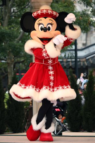 ミニー クリスマスグリ トナカイ