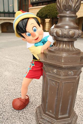 ピノキオ メディテ はしら