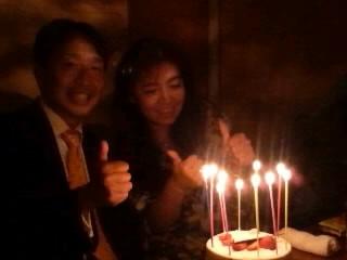 去年の誕生日