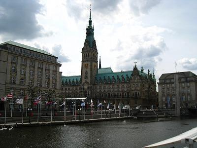 ハンブルク市庁舎1