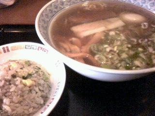 ラーメン竜細麺ミニチャーセット500円