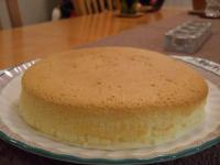 チーズケーキできあがり