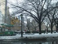 雪のセントラルパーク