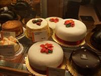 ポインセチアケーキ