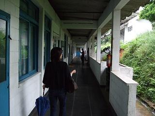中学部廊下