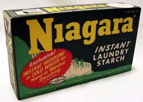 NIAGARA LAUNDRY STARCH BOX