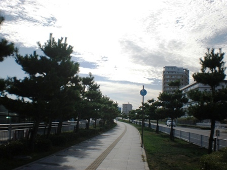 大蔵海岸→明石祭で事故があった現場付近