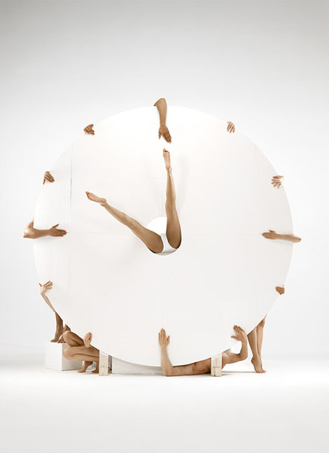 Human Clock - Romain Laurent