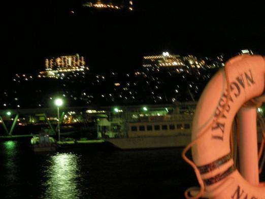 出島ワーフからの夜景
