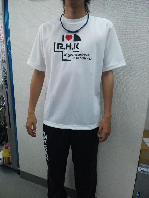 ラケットハウスキングオリジナルTシャツ