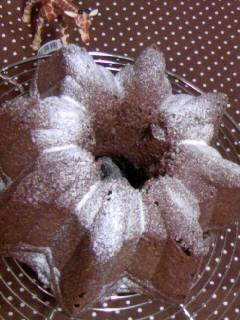 生クリームチョコケーキ オープンスター全体&きりん