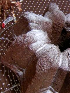 生クリームチョコケーキ オープンスター横アップ