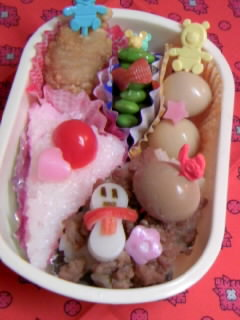 幼稚園弁当 ケーキ弁当