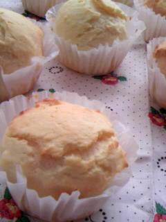 チーズケーキ丸パン 斜め