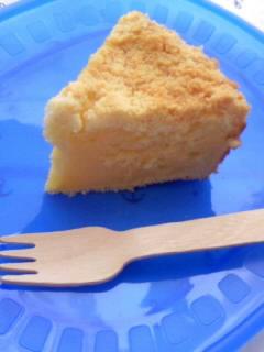 スクランブルチーズケーキ カット