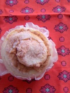 くるくるピーナッツバターパン 1個