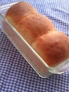 ホシノ酵母 リッチ生地 ミニ食パン 斜め