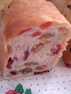 みかさんの 果実のパン アップ