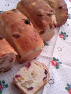 みかさんの 果実のパン 全体