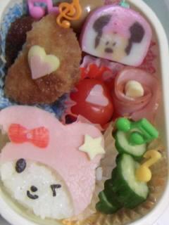 幼稚園弁当 メロディーちゃん 第二弾
